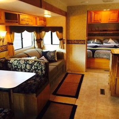 Holiday Rambler Living Area